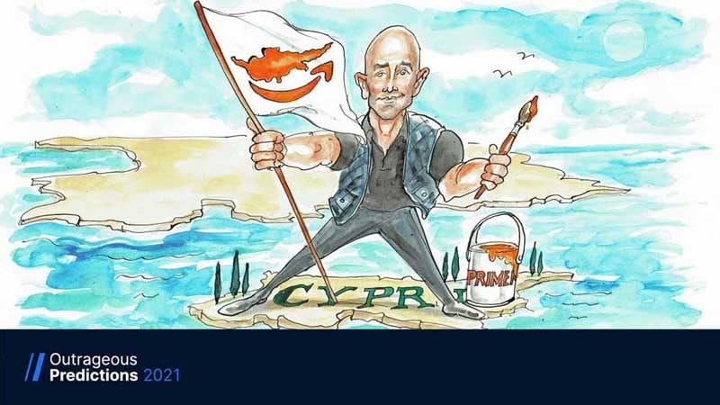 "Amazon ""buys"" Cyprus by Michael McKenna"